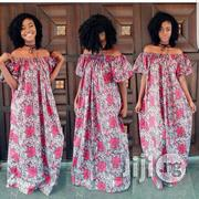 Ankara Dress Off Shoulder Ankara Gown | Clothing for sale in Plateau State, Jos
