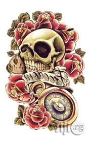 Skull Temporary Body Art Tattoo | Tools & Accessories for sale in Lagos State, Shomolu