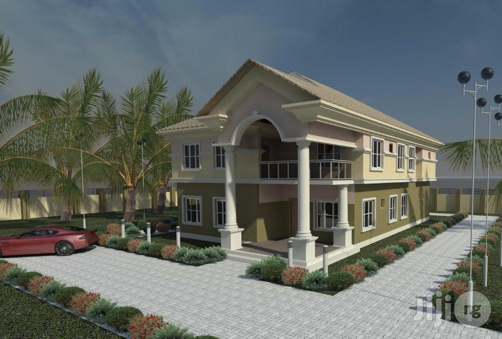5 Bedroom Duplex With C of O, BQ in Elekun Estate by Akure Mall Ondo | Houses & Apartments For Sale for sale in Akure, Ondo State, Nigeria