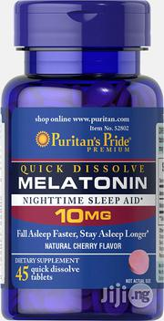 Puritans Pride Melatonin 10mg for Migraines and Better Sleep Quality | Vitamins & Supplements for sale in Lagos State, Lekki Phase 2