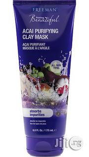 Freeman Facial Acai Purifying Clay Mask Absorbs Impurities 175ml | Skin Care for sale in Lagos State