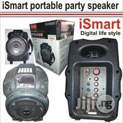 Ismart Digital Potable Party Speaker With Wireless Mike   Audio & Music Equipment for sale in Lagos State, Mushin