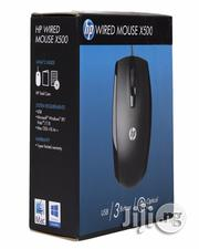 HP X500 Optical Wired USB Mouse.   Computer Accessories  for sale in Lagos State