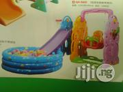 Kids Playground Slide With Swing, B.Net And Coloured Fancy Balls | Toys for sale in Lagos State, Ikeja
