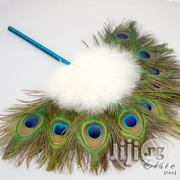 Peacock Bridal Hand Fan | Clothing Accessories for sale in Lagos State