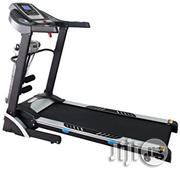 2.5 HP Automatic Treadmill With Massager, Twister, Dumbbells Incline | Massagers for sale in Lagos State, Surulere