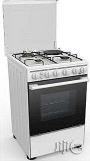Midea 4 Gas Cooker, 50 by 55cm-20bmg4g007-S White   Kitchen Appliances for sale in Lagos State