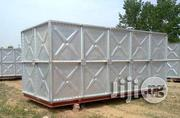 Hot Dip Galvanized Pressed Stainless Steel Panel Sectional Water Tank | Manufacturing Equipment for sale in Lagos State
