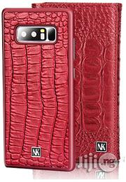 Galaxy Note 8 Nuoku 2 in 1 Wallet Leather Case Cover - Red | Accessories for Mobile Phones & Tablets for sale in Lagos State, Ikeja