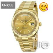 Rolex Day-Date 40 President Atomatic Men's Gold Watch | Watches for sale in Lagos State, Victoria Island