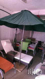 Brand New Imported Garden Umbrella With Outdoor Chairs | Garden for sale in Lagos State, Ojo