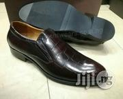 Black and Brown Glossy Designer Shoes by FERRE | Shoes for sale in Lagos State, Lagos Island