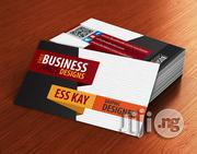 Branded Matte Complementary/Business Cards For Companies (100 Pieces) | Computer & IT Services for sale in Lagos State