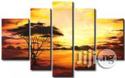 5piece Panel Landscape Painting   Building & Trades Services for sale in Abuja (FCT) State, Utako