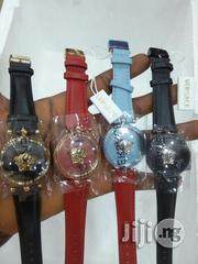 Gianni Versace Ladies Genuine Leather Strap Watch   Watches for sale in Lagos State, Surulere
