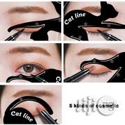 1 Pair Women Cat Line Eye Makeup Eyeliner Stencils | Makeup for sale in Lagos State