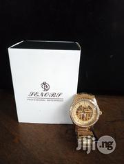Water Resistant Gold Plated Mechanical Watch   Watches for sale in Lagos State, Ikeja