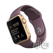 A1 Touch Screen Android Smart Phone Wrist Watch - Gold | Smart Watches & Trackers for sale in Lagos State, Ikeja