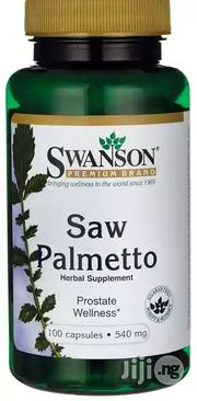Swanson Saw Palmetto Herbal Supplement   Vitamins & Supplements for sale in Lagos State, Yaba
