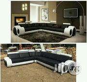 Luxuriate Leather Sofa With Cup Holder | Furniture for sale in Lagos State