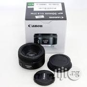 Brand New Prime Canon Lens 50mm F/1.8 STM | Accessories & Supplies for Electronics for sale in Lagos State, Lagos Island