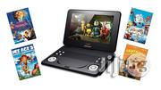 Lava 9-inch Screen Portable DVD Player With Fox Family Movie Bundle | TV & DVD Equipment for sale in Lagos State