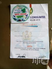 Emblem Certificate For Company Cars, Vehicle & Dispatch Rides   Logistics Services for sale in Lagos State, Ojodu