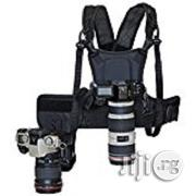 Micnova Multi Camera Carrying Chest Harness System Vest With Side Hol | Photo & Video Cameras for sale in Lagos State, Ikeja