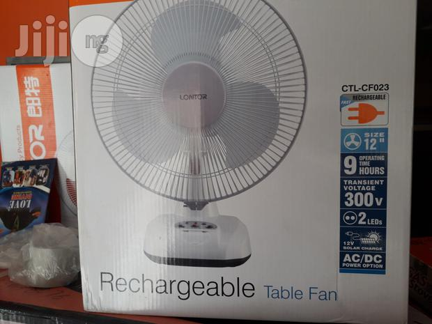 Lontor Rechargeable Table Fans