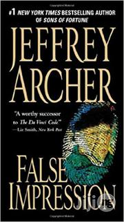 False Impression By Jeffrey Archer   Books & Games for sale in Lagos State, Ikeja