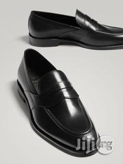 Massimo Dutti - Black Leather Penny Loafers | Shoes for sale in Lagos State, Lagos Island