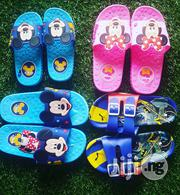 Rubber Character Slip On In Mickey, Batman N Minnie   Children's Shoes for sale in Lagos State, Lagos Island