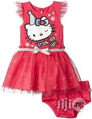 Hello Kitty Baby Girls' Party Tutu Dress- Fuchsia Pink | Children's Clothing for sale in Lagos State