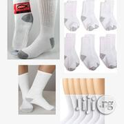 White Socks For Ages 4 To 10 | Children's Clothing for sale in Lagos State, Amuwo-Odofin