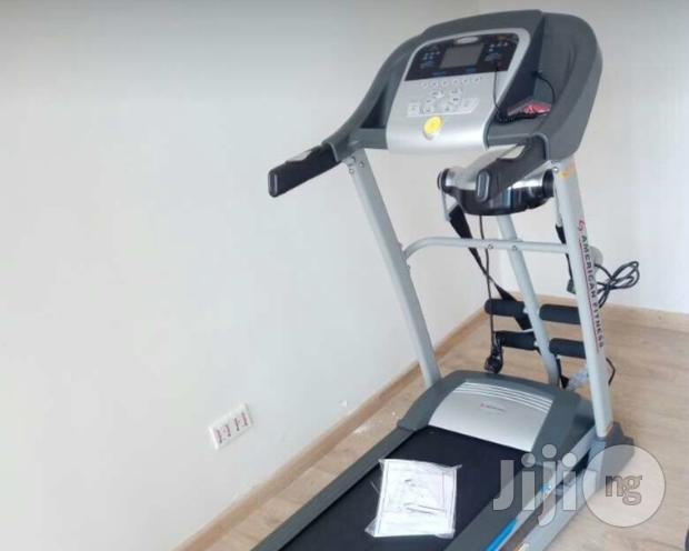 American Fitness 2hp Treadmill With Massager
