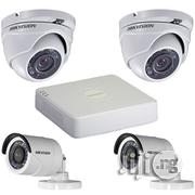 Hikvision 2 Bullet Camera/ 2 Dome Camera/ 1 DVR | Security & Surveillance for sale in Lagos State, Ikeja