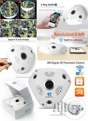 VR CAM Fish Eye 3D Panoramic Camera Indoor 360degree Surveillance | Security & Surveillance for sale in Lagos State, Ikeja