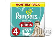 Pampers Pants Size 4 (160 Counts ) | Baby & Child Care for sale in Lagos State, Ikeja
