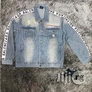 BALENCIAGA Denim Jacket | Clothing for sale in Lagos State, Lekki Phase 2