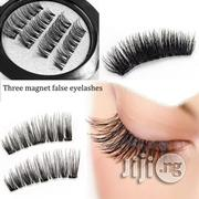 MAGNETIC Eyelashes Natural No-Glue Eye Lashes Extension | Makeup for sale in Lagos State