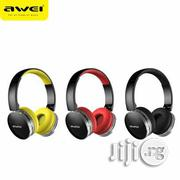 Awei Foldable Hi-fi Stereo Wireless Headphones A500BL   Headphones for sale in Lagos State, Ikeja