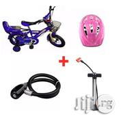 BMX Bicycle 12'' + Helemt + Steel Wire Rope Lock + Hand Lock | Toys for sale in Lagos State, Lagos Island