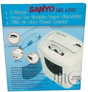 Sanyo SBS 620C 5-sheet Cross Cut Electric Paper & CD Shredder | Stationery for sale in Lagos State, Ikeja