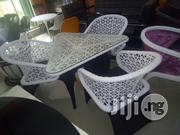 Three Seaters Outdoor Chairs and Table | Furniture for sale in Lagos State, Lekki Phase 1