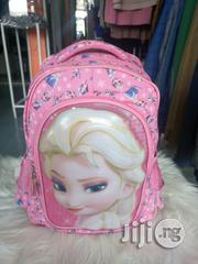 Princess Facial Character School Bag | Babies & Kids Accessories for sale in Abuja (FCT) State, Gwarinpa