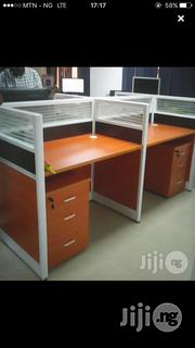 Office 4-Man Workstation Table(New) | Furniture for sale in Lagos State, Ikeja
