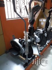 Indoor Exercise Bike With Dumbells   Sports Equipment for sale in Ogun State, Ayetoro