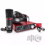 Focusrite Scarlett 2i2 Studio 2nd Gen 2x2 USB 2-0 Audio Interface With Mic Cable | Accessories & Supplies for Electronics for sale in Lagos State, Ojo