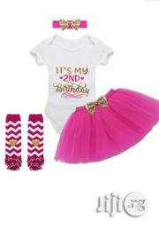 It's My 2nd Birthday Tutu Dress | Children's Clothing for sale in Lagos State