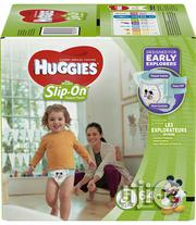 Huggies Little Movers Slip On Diaper Pant Size 5 (64 Count ) | Baby & Child Care for sale in Lagos State, Ikeja